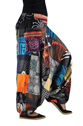 7534097db882 Pantalones bombachos hombre y mujer virblatt con tejidos tradicionales  talla única ...