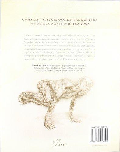 Anatomía para vinyasa flow y posturas de pie (Manuales De Yoga ...