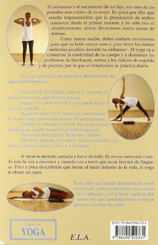 a85e189eb Yoga para embarazadas (+DVD) (Yoga (e.L.A.)) - Yoga y Moda